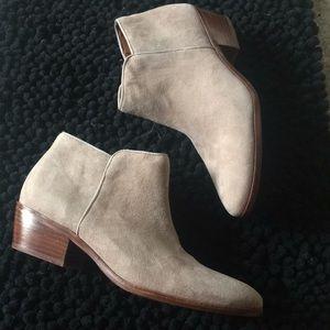 Sam Edelman suede boots size 10